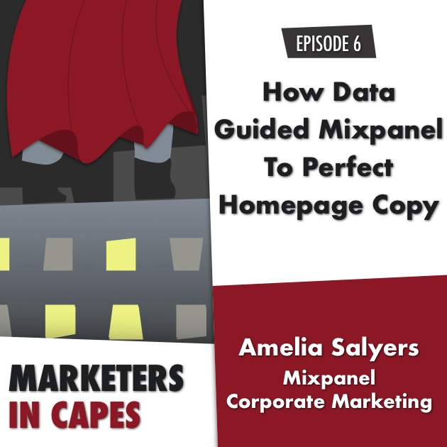 How Data Guided Mixpanel To Perfect Homepage Copy E. 06
