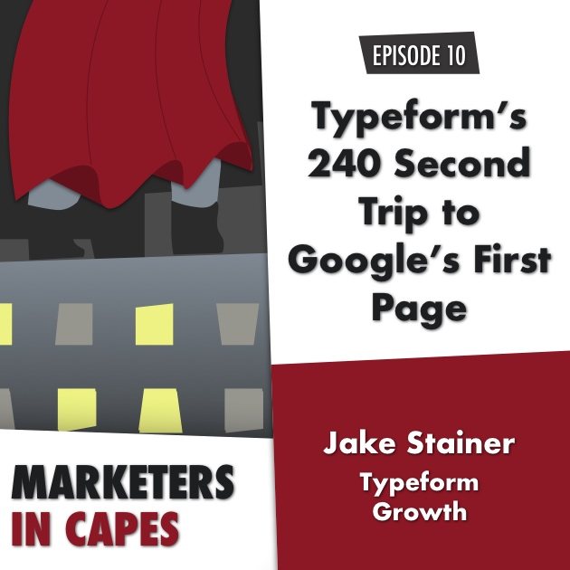 Typeform's 240 Second Trip to Google's First Page
